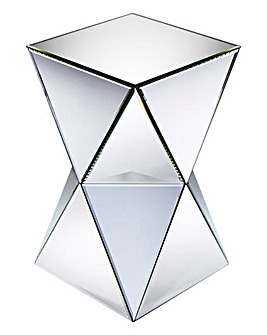 Deco Mirrored Side Table