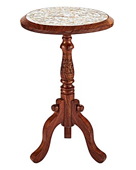 Emery Mother Of Pearl Side Table