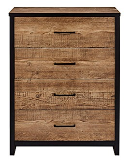 Salvage 4 Drawer Chest