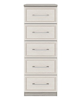 Sorrento Soft Close 5 Drawer Chest