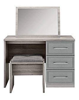 Sorrento Dressing Table, Stool & Mirror