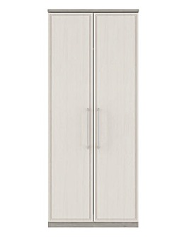 Sorrento Soft Close 2 Door Wardrobe