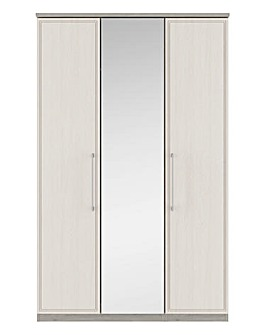Sorrento Soft Close 3 Door Wardrobe