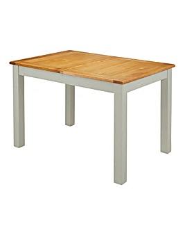 Norfolk Two Tone Oak and Oak Veneer Large Extending Dining Table