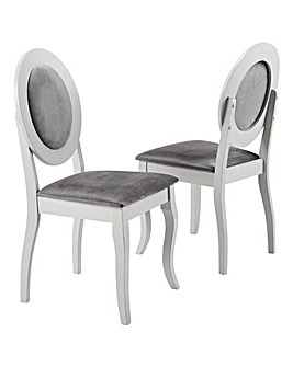 Elise Pair of Dining Chairs