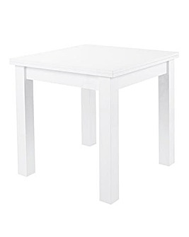 Halo High Gloss Square to Rectangular Dining Table
