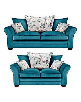 Georgia 3 plus 2 Seater Sofa
