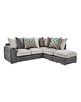 Casper Righthand Corner Group with Footstool