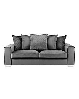 Luciano 3 Seater Pillowback Sofa