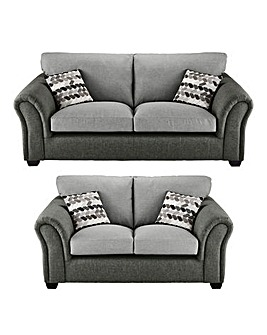 Jazz 3 plus 2 Seater Standardback Sofa