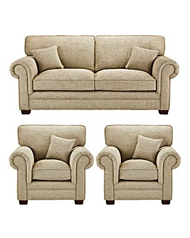 Avery 3 Seater Sofa plus 2 Chairs