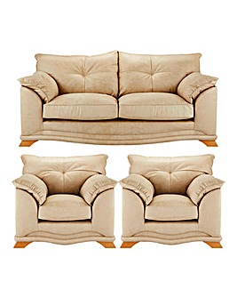 Lincoln 3 Seater Sofa plus 2 Chairs