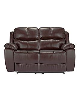 Carlton Leather Recliner 2 Seater Sofa