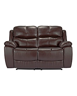Carlton Leather Recliner 2 Seater Sofa
