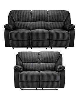 Weston Recliner 3 & 2 Seater Sofa