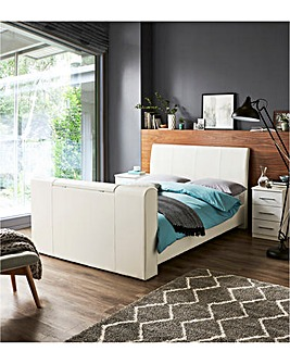 Brooklyn Pneumatic Double TV Bed