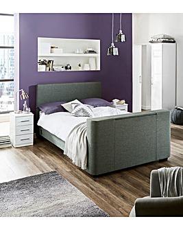 Newark Fabric TV Bedstead