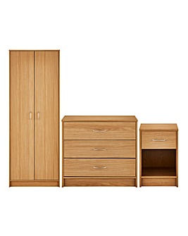 Darwen 3 Piece Bedroom Package