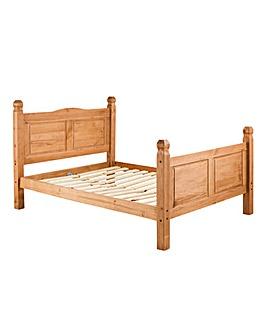 Corona Solid Pine Single Bedstead