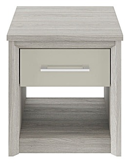 Milo Assembled High Gloss Side Table