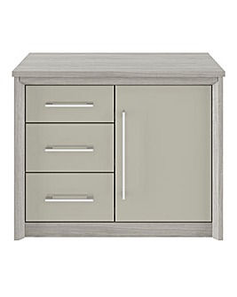 Milo Assembled 1 Door 3 Drawer Sideboard