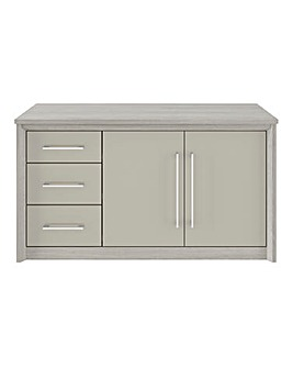 Milo Assembled 2 Door 3 Drawer Sideboard