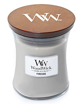 Woodwick Fireside Medium Jar Candle