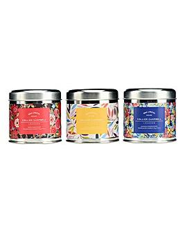 Wax Lyrical Set 3 Candle Tins
