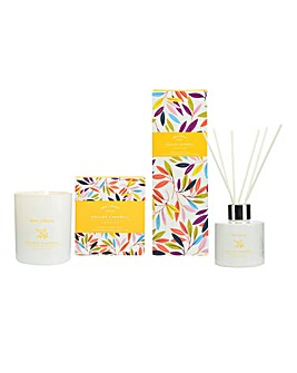 Wax Lyrical Vanilla & Amber Gift Set