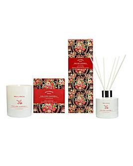 Wax Lyrical Rose & Oud Wood Gift Set