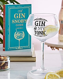 Gin Snob Bloom Glass