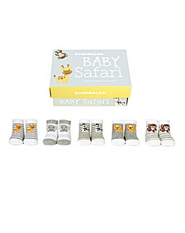 Baby Safari Socks Gifts Set