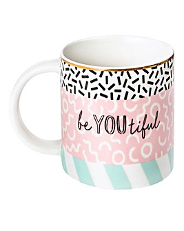 Memphis Modern Be You Mug