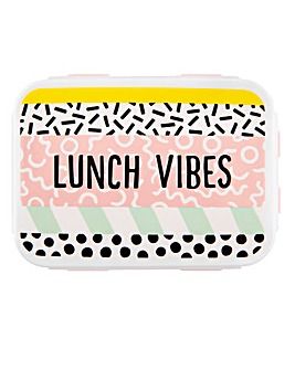Memphis Modern Lunch Vibes Lunch Box