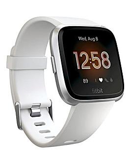 Fitbit Versa Lite White/Aluminum