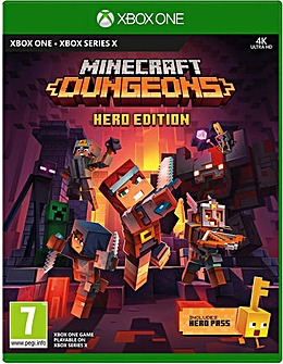 Minecraft Dungeons Hero Edition Xbox One