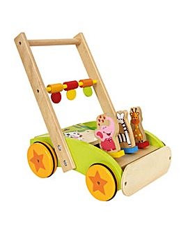 Children's Wooden Animal Training Walker
