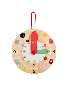 Children's Wooden Educate Wall Clock