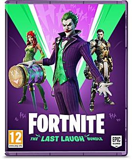 Fortnite The Last Laugh Bundle Switch