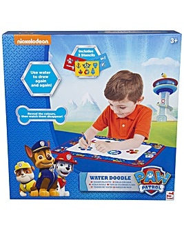 Paw Patrol Water Doodle With Stencils, Water Art Pen And Fabric Playmat