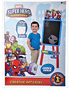 Marvel  Doubleside Floor Standing Easel Superhero Adventure