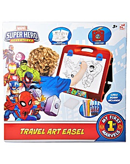 Superhero Adventures Travel Art Easel