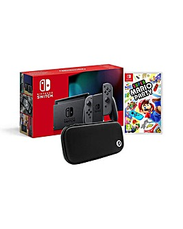 Switch inc Super Mario Party and Case