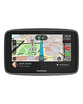 TomTom Go 5200 Wi-Fi, Siri/Google Now Integration, SIM Card (World Map)