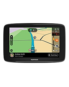 TomTom Go Basic Wi-Fi, Phone Messages (6in, Europe Map)