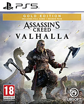 Assassins Creed Valhalla Gold Edtn PS5