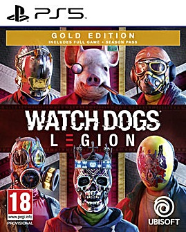 Watch Dogs Legion Gold Edition PS5