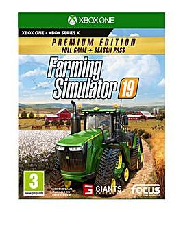 Farming Simulator 19 Premium Ed Xbox One