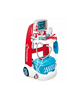 SMOBY Children's Medical Trolley Playset