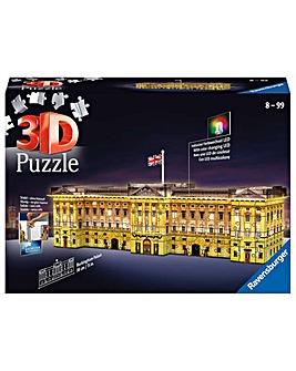 Buckingham Palace Night Edition 3D